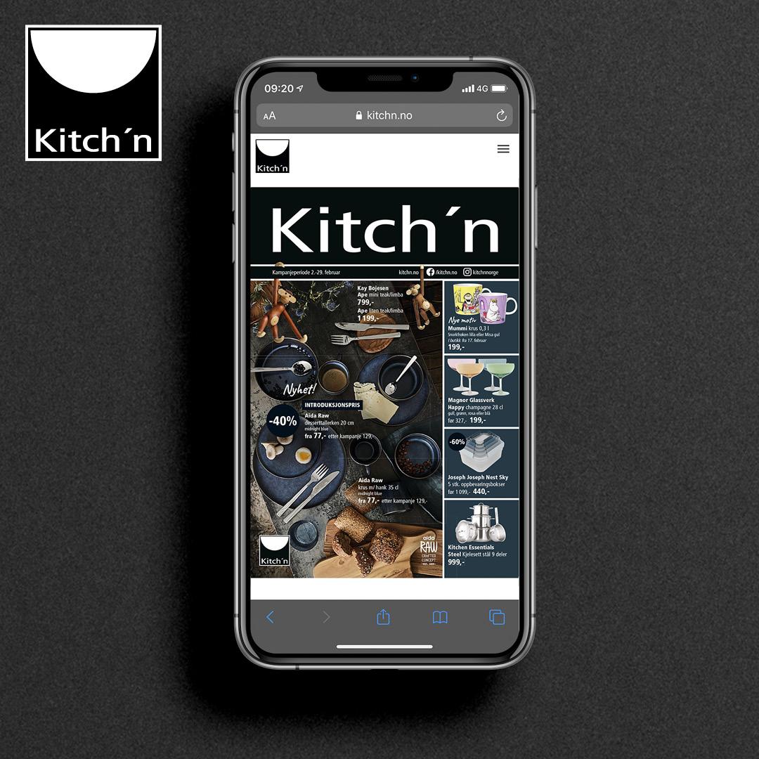 Ny katalog fra Kitch'n
